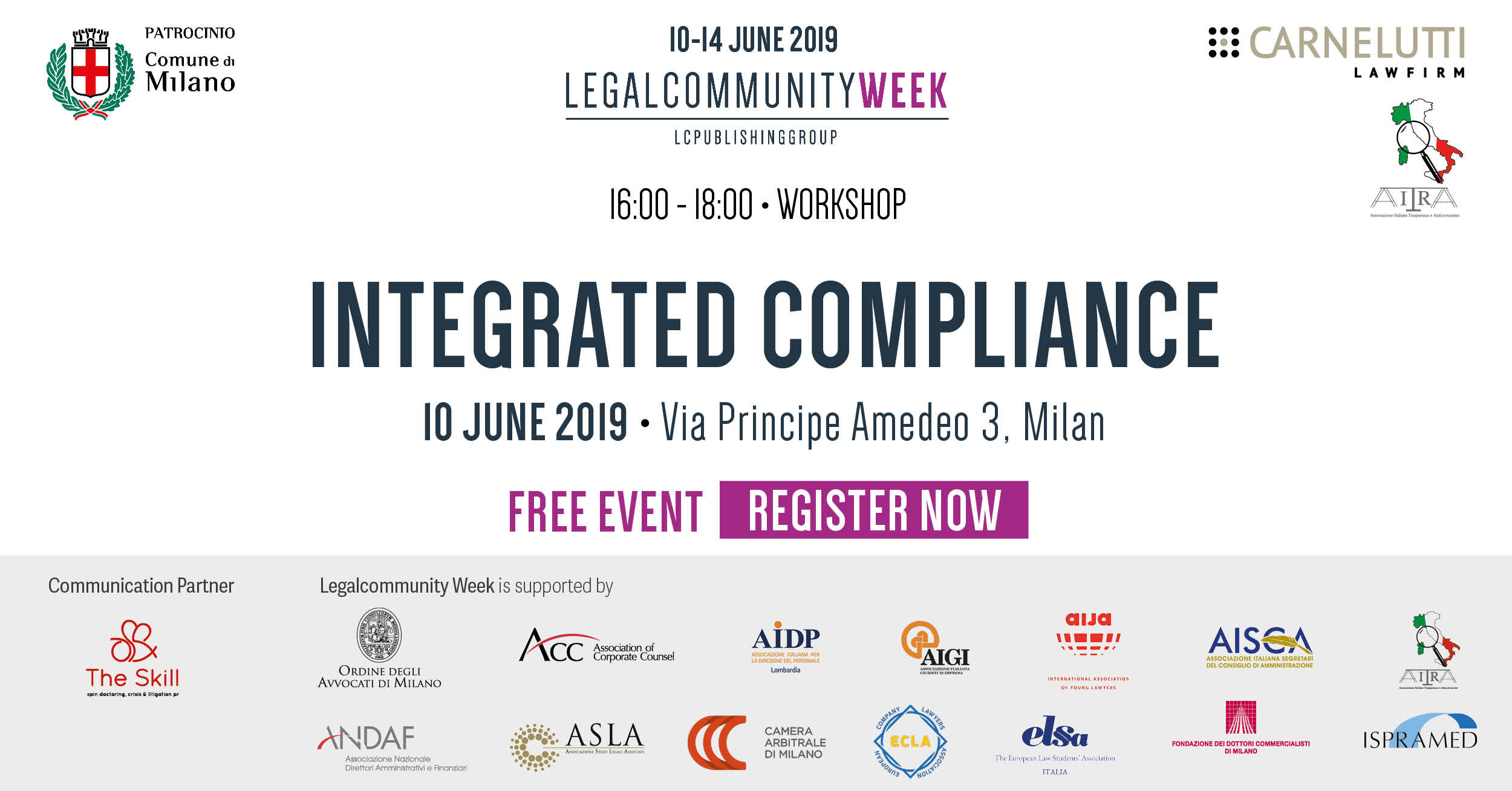"Workshop: ""Integrated compliance"""