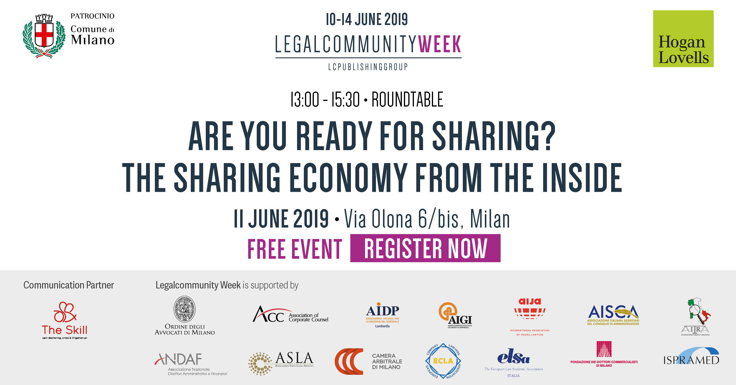"""Business lunch and roundtable: """"Are you ready for sharing? The sharing economy from inside"""""""