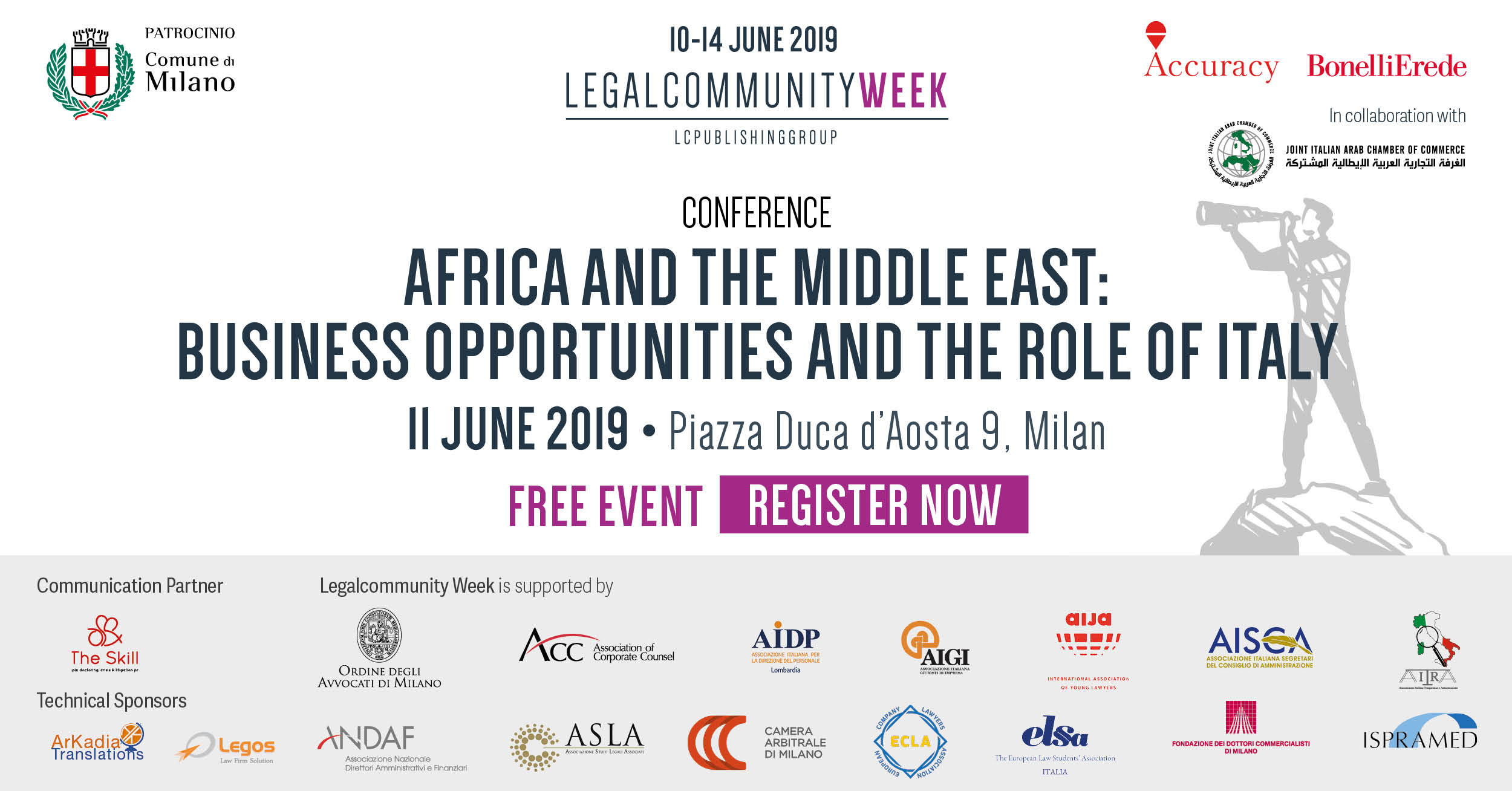 "Conference: ""africa and the Middle East: business opportunities and the role of Italy"""