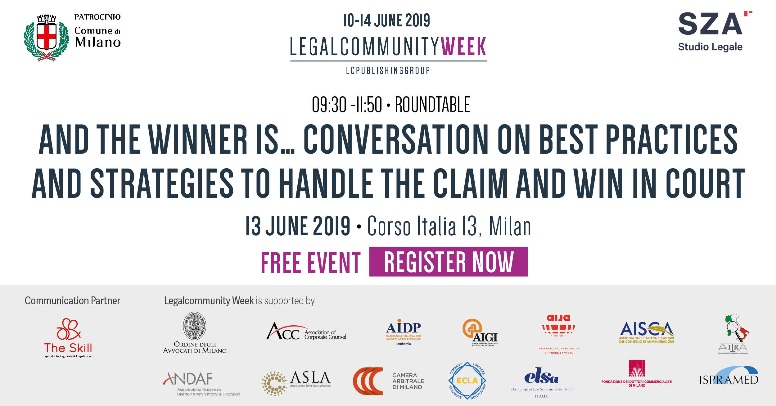 Conversation on best practices and strategies to handle the claim and win in court""